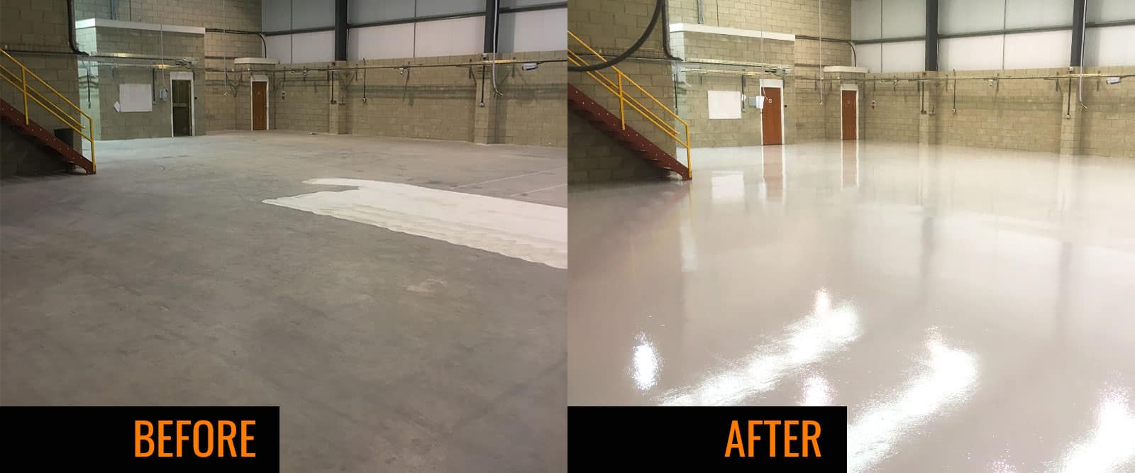 Suffolk factory resin flooring project