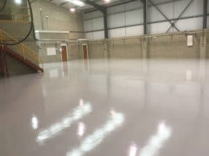 big factory resin durable flooring
