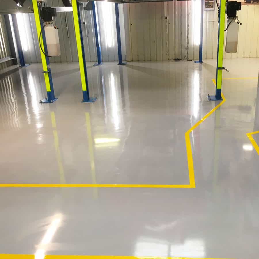 Factory and Industrial Resin Flooring 1