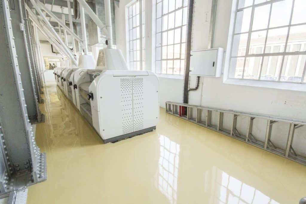 factory Industrial Resin Flooring