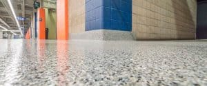 factory flake resin flooring