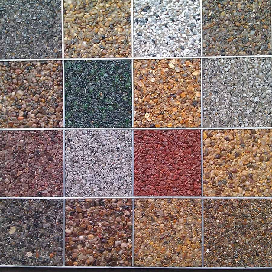 resin driveway multiple colour options