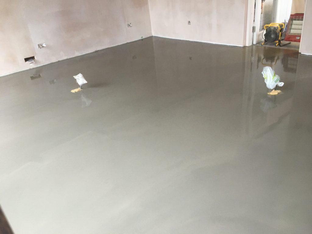 Cementitious Self Levelling Screed Flooring Installation 2